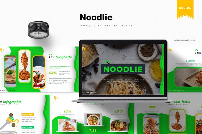 Thumbnail for Noodie | Google Slides Template