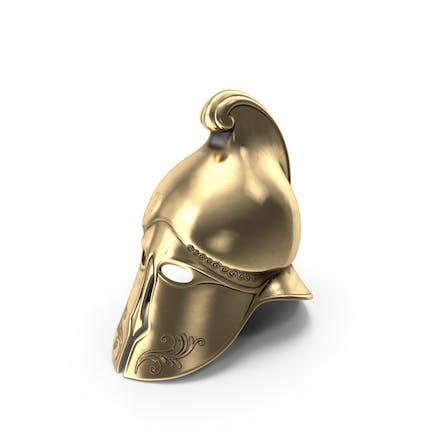 Casco de oro griego