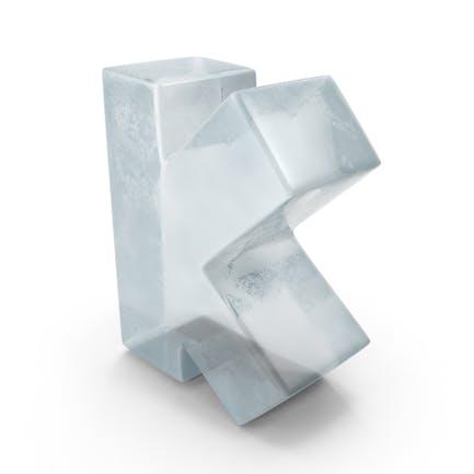 Eisbuchstabe K