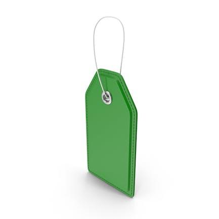 Price Tag Green