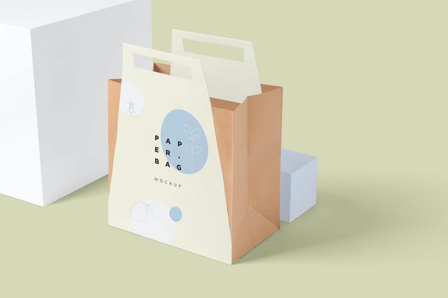 Paper Bag Mock Ups