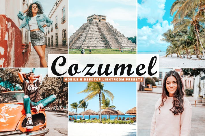 Thumbnail for Cozumel Mobile & Desktop Lightroom Presets