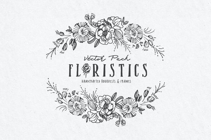 Thumbnail for Floristics Vector Pack
