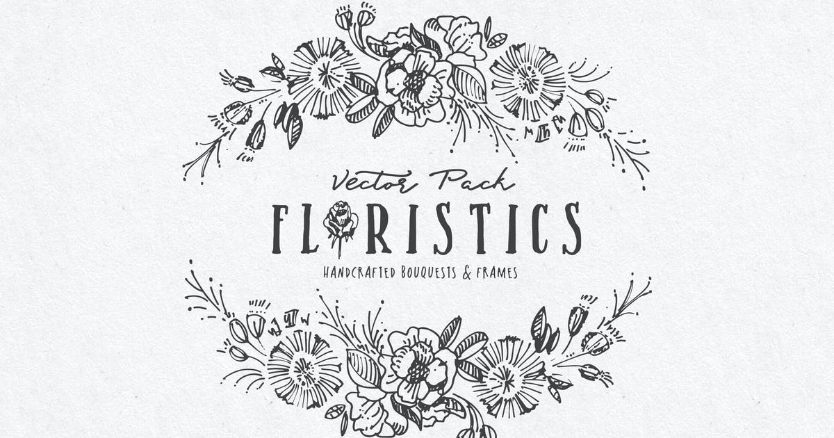 Download Floristics Vector Pack by BlessedPrint