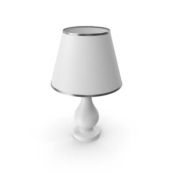 Lámpara dormitorio blanco