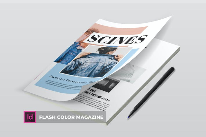 Thumbnail for Flash color | Magazine