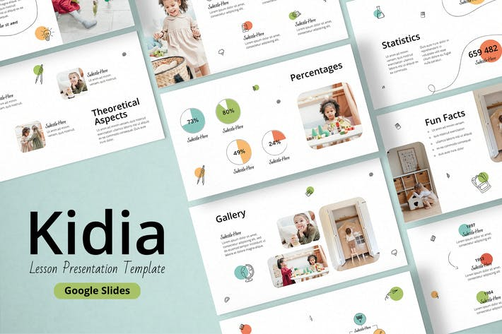 Lesson Google Slides Presentation Template