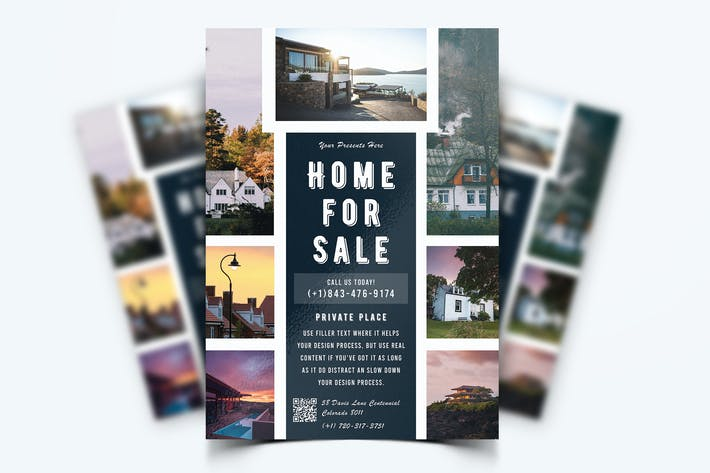 Thumbnail for Real Estate Property Flyer-12