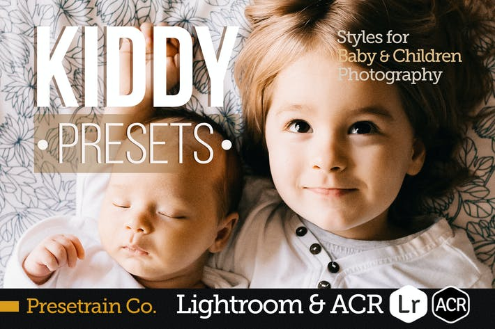 Thumbnail for Kiddy - Children Presets for Lightroom & ACR