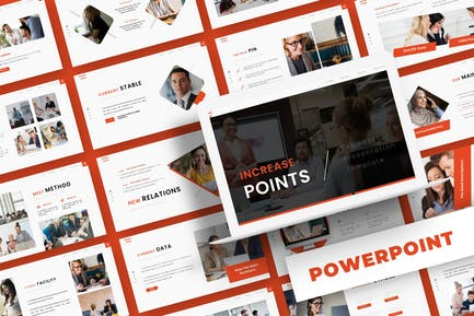 Increase Points - Powerpoint Template