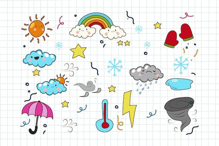Wetter Doodle