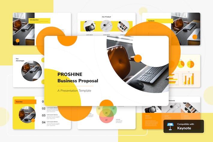 Thumbnail for PROSHINE - Шаблон ключевых заметок бизнеса