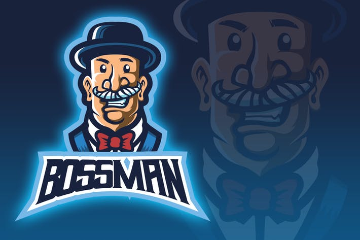 Thumbnail for Boss Man Esport Logo