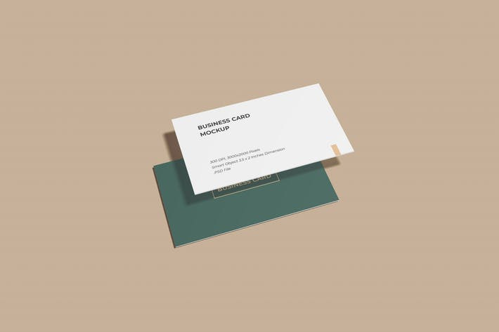 Thumbnail for Stylish business card mockups