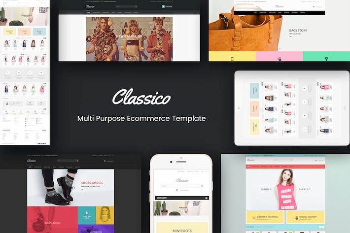 Thumbnail for Classico - Responsive Prestashop 1.6, 1.7 Theme