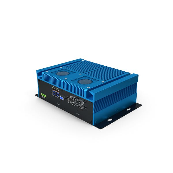 Industrial Mini PC Blue