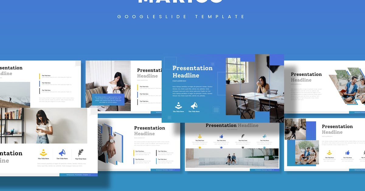 Download Marico - Google Slide Template by aqrstudio