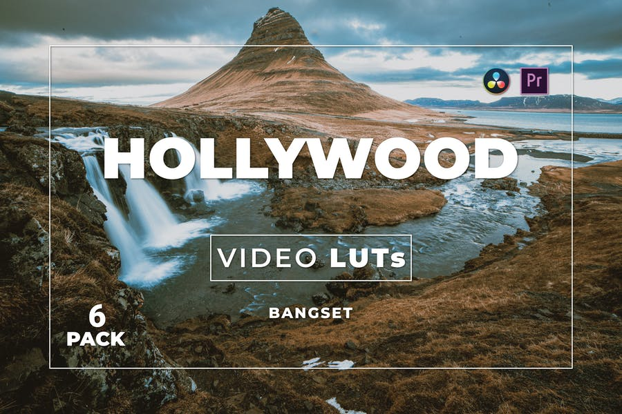 Бангсет Голливуд Pack 6 Видео LUTs