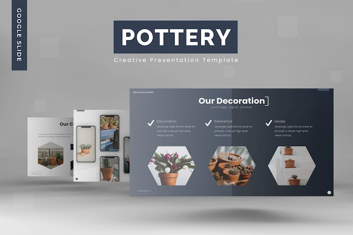 Cover Image For Pottery - Google Slides Template