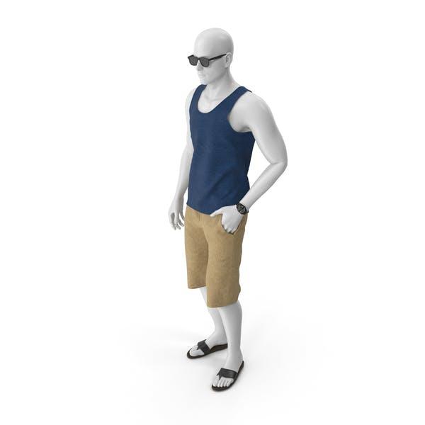 Манекен в летней одежде
