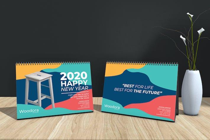 Thumbnail for Woodora Furniture Table Calendar 2020