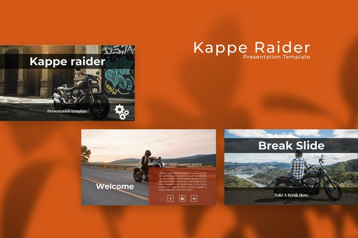 Thumbnail for Kappe Rider PowerPoint Presentation