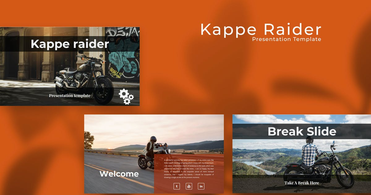 Download Kappe Rider PowerPoint Presentation by raseuki