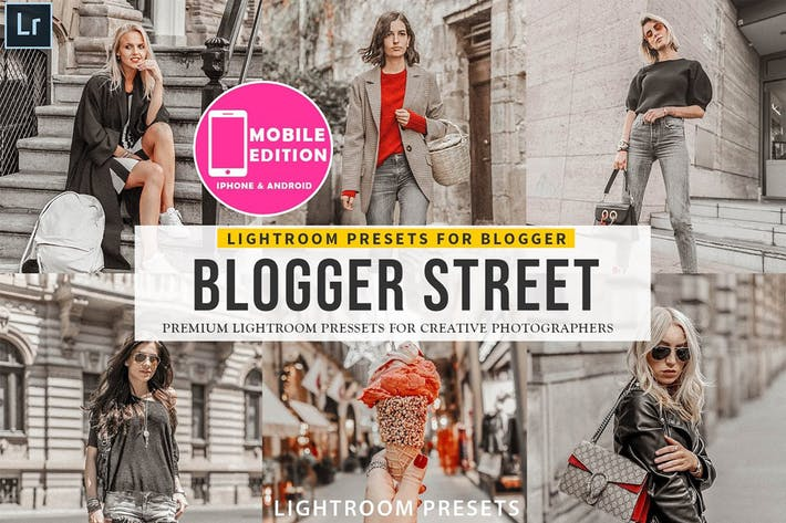 Thumbnail for Blogger Street Lightroom Presets
