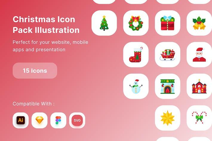 Ilustración del paquete de iconos de