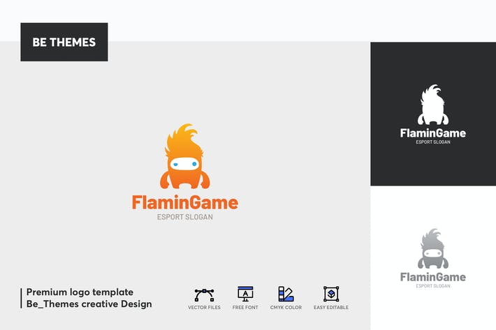 Cover Image For Flamin Game Logo