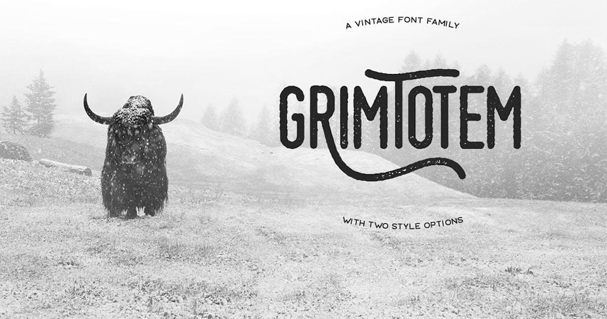 Download Grimtotem Typeface by MehmetRehaTugcu