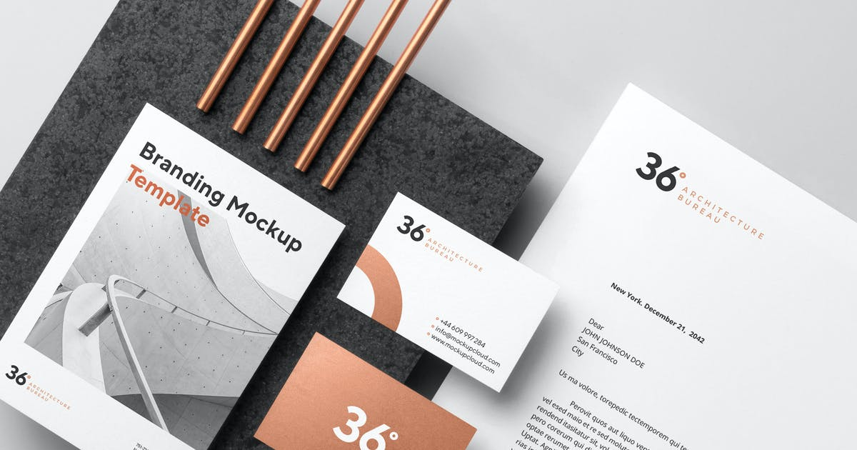 Download Copperstone Branding Mockup Vol. 1 by Genetic96