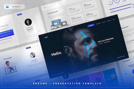 Resume - Keynote Template