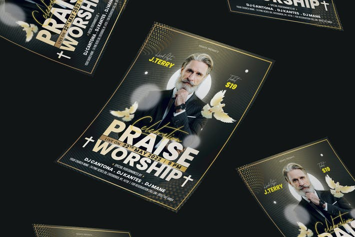 Thumbnail for Church Anniversary Flyer