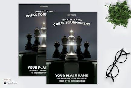 Chess Flyer Template vol. 01 MR