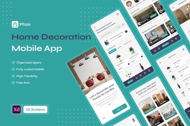 Plair - Home Decoration & Furniture Mobile App