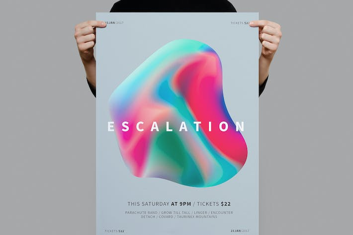 Thumbnail for Escalation Poster / Flyer