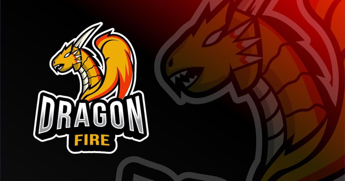 Download Dragon Fire Esport Logo Template by IanMikraz