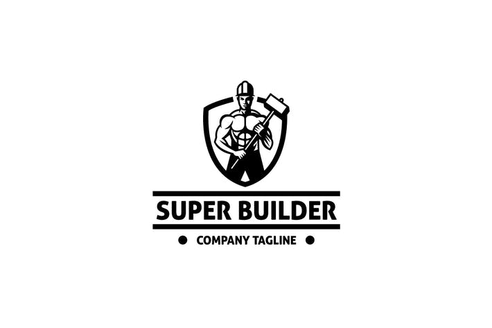 Super Builder Logo