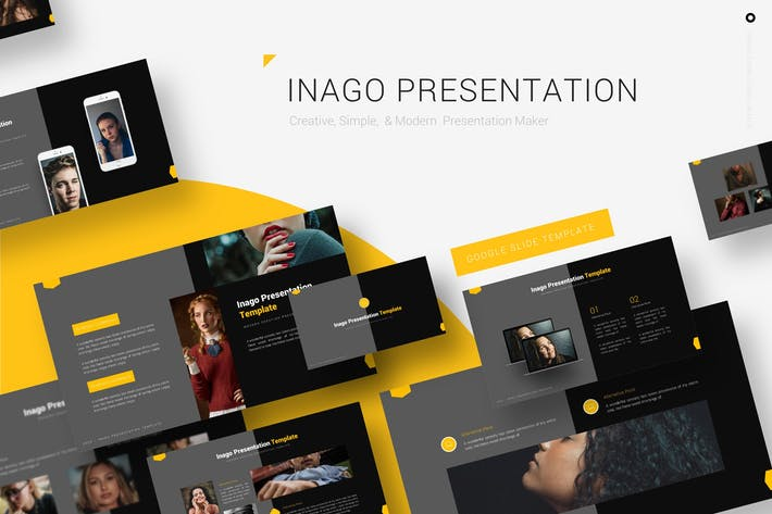 Thumbnail for Inago - Google Slides Template