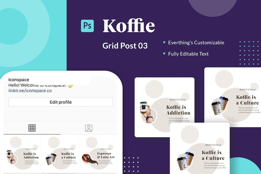 Koffie Grid - Series 03