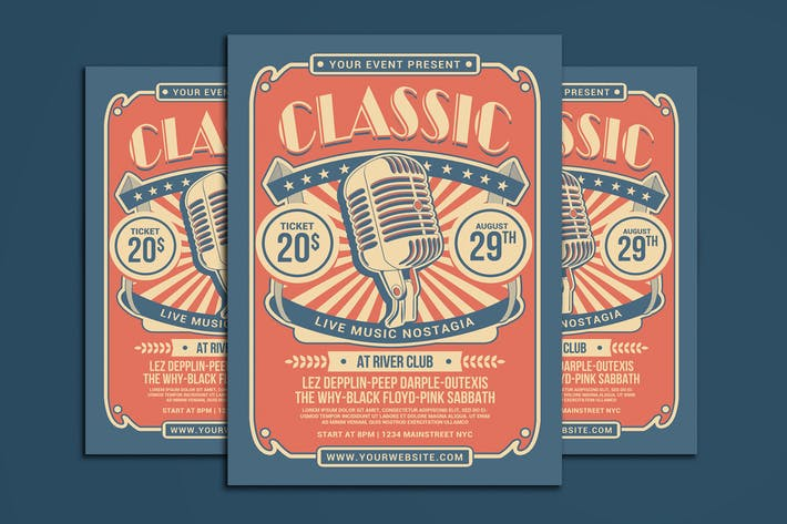 Thumbnail for Classic Music Show Flyer