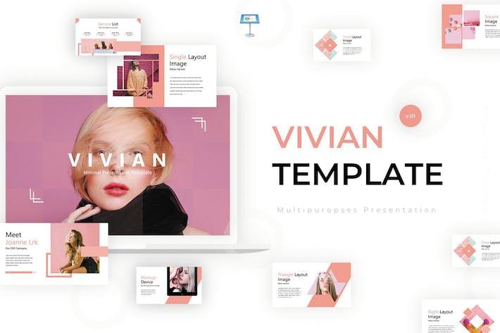Thumbnail for Vivian - Keynote Template
