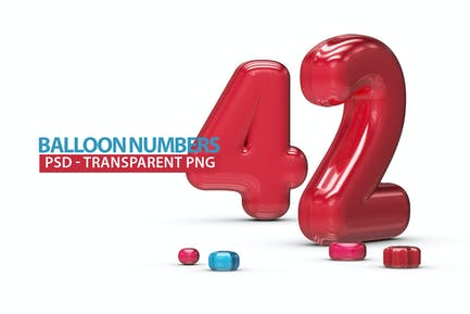 Inflated Balloon Numbers