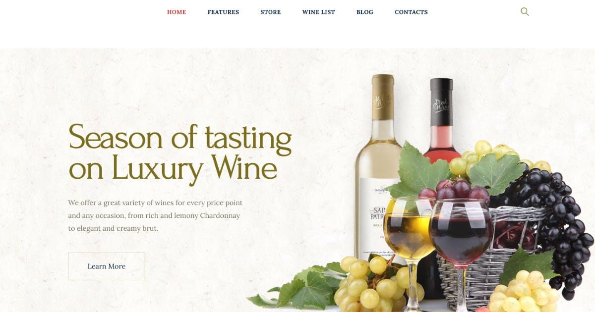 Download Luxury Wine   Liquor Store & Vineyard WP Theme by ThemeREX