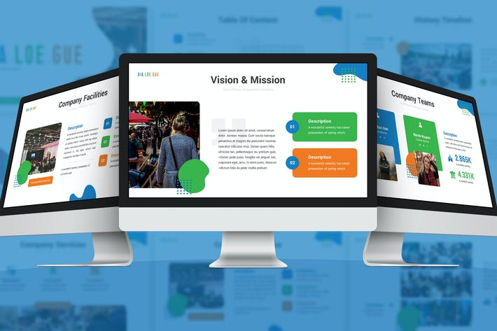 Thumbnail for Диалог - Творческий шаблон слайдов Google