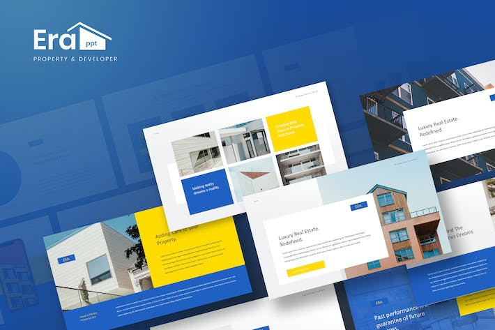 ERA - Property & Developer Powerpoint Template