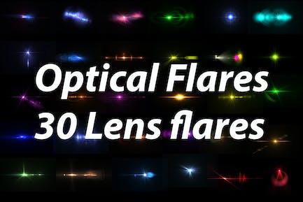 Optical Flares - 30 Lens flares