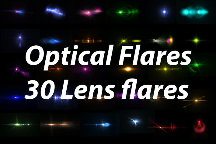 Optische Flares - 30 Lens Flares