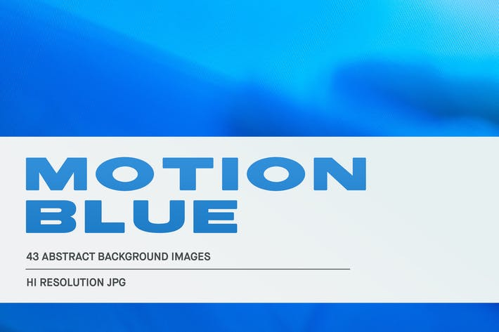 Cover Image For Motion Blue Abstract Images